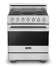 Viking 30  3 Seroes Convection Electric Range   RVER33015BSS