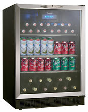 Danby Silhouette 23 88 inch 5 3 cu  ft  Undercounter Beverage Center