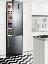 Summit Built In 12 8 Cu  Ft  Counter Depth Bottom Freezer Refrigerator