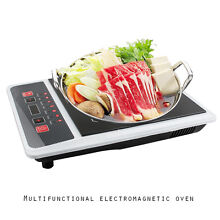 USA Portable Digital Electric Induction Cooktop Countertop Burner Cooktop Burner