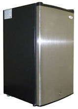 SPT Sunpentown  UF 304SS  3 0 cu ft  Upright Freezer Energy Star Stainless Steel