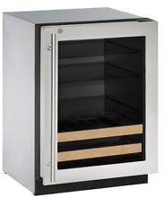 2000 Series Stainless Steel 24 inch 4 9 cu  ft  Undercounter Beverage Center Rig