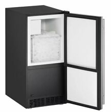 U Line Reversible 15  25 lb  Daily Production Built in Ice Maker