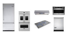 Viking 36  Refrigerator  36  Induction Cooktop  Oven  Hood   Dishwasher
