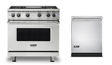 Viking 36  Gas Range   FREE Dishwasher  New Model  VGR5364GSS