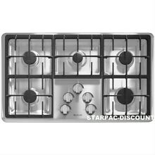 Jenn Air 36   36 Inch  Gas CookTop JGC1536ADS Stainless Steel 5 Sealed Burner
