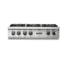 Viking Professional Custom 36  Gas Rangetop   New Model  VRT5366BSS
