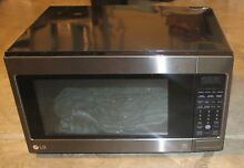 GENTLY USED LG LCRT2010BD 24  2 cu ft  Capacity Countertop Microwave 1 200W