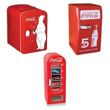Coca Cola  Fully Functional Mini   Retro   Can Fridge   New   Official Coca Cola