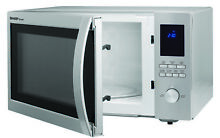 Sharp ZSMC1655BS 1 6 Cu Ft Brushed Stainless Steel Microwave 1100 Watts