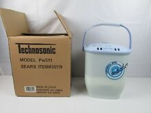 Technosonic  Sears  Portable Mini Clothes Washer Washing Machine PW311 New RV