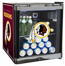 Glaros NFL 1 8 cu  ft  Beverage Center Washington Redskins