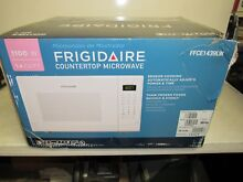 NEW Frigidaire 1 4 Cu  Ft  1000W Countertop Microwave FFCE1439LW White