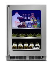 Viking Professional 5 Series 24  Beverage Center   VBUI5240GRSS