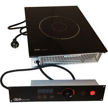DIPO 1800W DROP IN INDUCTION COOKTOP  SEPARATE MOUNTED CONTROLS  120V NBK118 A