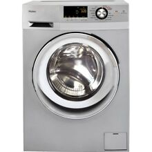 Haier 24  2 0 Cu  Ft  Front Load Washer Dryer Combo  hlc1700axs