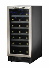 Danby 34 Bottle Silhouette Single Zone Built In Wine Cooler