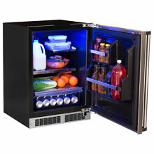 Marvel Professional 24 inch 5 1 cu  ft  Undercounter Refrigeration Left