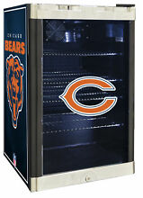 Glaros NFL 4 6 cu  ft  Beverage center Chicago Bears