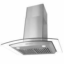 Cosmo 30  760 CFM Ductless Wall Mount Range Hood in Stainless Steel