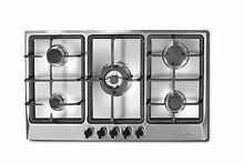 Ancona 34  Gas Cooktop with 5 Burners