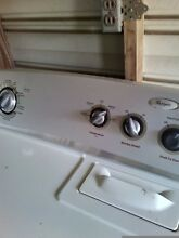 Whirlpool washer and dryer very good condition