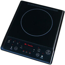 1 300W Micro Induction Cooktop Electric Ceramic Kitchen Appliances Cooking Black