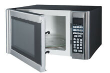 Hamilton Beach 1 1 cu  ft  Digital Microwave  Stainless Steel