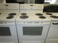 Used electric kenmore stove in mind  condition 30  wide self cleaning oven