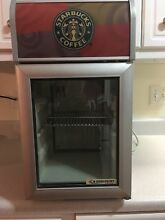 Starbucks Themed Commercial Mini Fridge Cooler Cold Master CT50 Works Great
