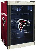 Glaros NFL 4 6 cu  ft  Beverage center Atlanta Falcons