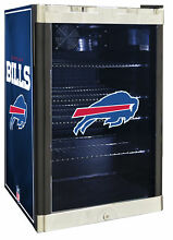 Glaros NFL 4 6 cu  ft  Beverage center Buffallo Bills