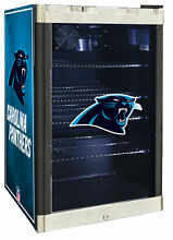 Glaros NFL 4 6 cu  ft  Beverage center Carolina Panthers