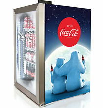 Nostalgia 2 4 cu  ft  Beverage center with Freezer