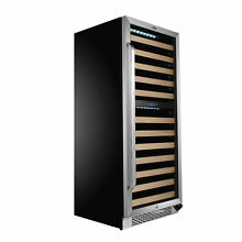 Whynter 92 Bottle Dual Zone Built In Wine Cooler