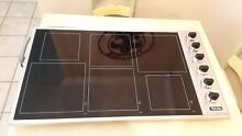 36  Viking PRO Stovetop Glass Ceramic Top Stainless Steel Range Cooktop