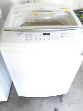Beautiful High performance top loading LG washer   Dryer