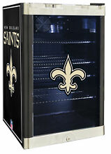 Glaros NFL 4 6 cu  ft  Beverage center New Orleans Saints