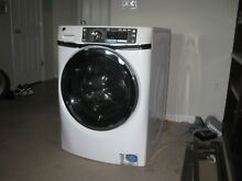 Front load G  E  washer  white   GFWS2600F0WW