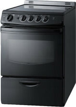 Summit Appliance Summit 24  Slide In Smooth Top Electric Range
