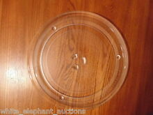 12  GE WB39X0078 MICROWAVE GLASS TURNTABLE TRAY   PLATE QUARTER SIZE DRIVE