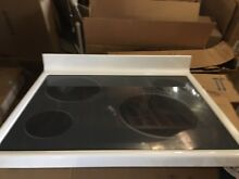NEW Maytag Whirlpool Top Assembly Glass Cooktop  White  Part  74008543