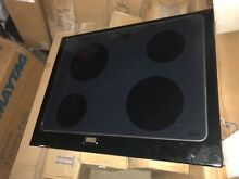 NEW Maytag Whirlpool Top Assembly Glass Cooktop  Black  Part   74011063