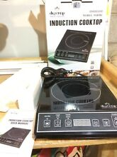 Duxtop 1800   Watt Portable Induction Cooktop Countertop Stainless Steel Burner