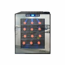 Vinotemp Vt12tsbm 12 Bottle Thermoelectric Wine Cooler