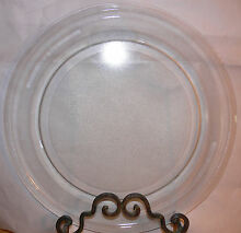 14 1 8  GE Microwave Glass Turntable Plate Tray Clean Used Cond 9 3 4  Roller