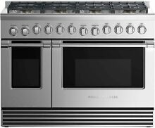Fisher   Paykel 48  Stainless Professional Gas Range 8 Burners   RGV2 488N