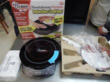 NuWave Induction Cooktop 2 Portable Precision   FREE 9  Ceramic Fry Pan  NIB