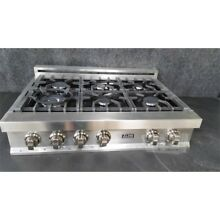 Zline RT36 Gas Rangetop 6 Burner 4 200 18 000 BTU hr Stainless Steel