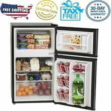 Refrigerator Mini Freezer 3 2 cu ft 2 Door Energy Star Home Office Dorm New